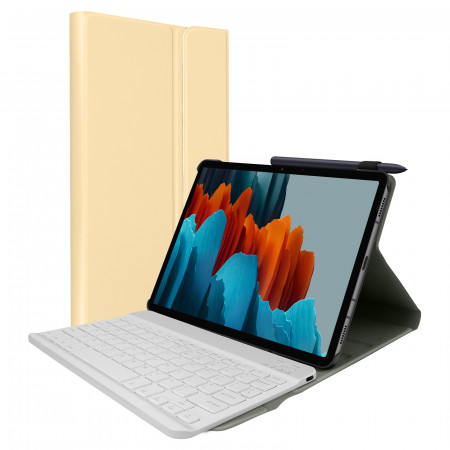 Clavier Samsung Galaxy Tab S7 11.0 avec housse fonction stand