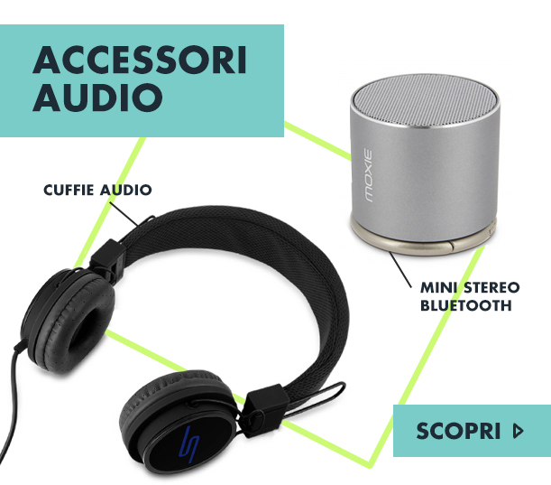 Accessori audio : cuffie, auricolari, stereo bluetooth