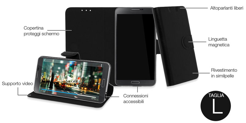 Housse universelle Sony Xperia SL