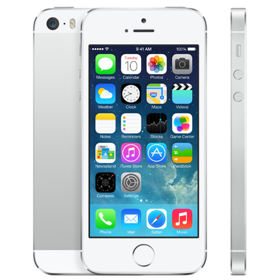 L'iPhone 5S silver 32 Go